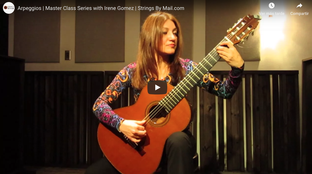 Arpeggios   Master Class Series with Irene Gomez   Strings By Mail.com