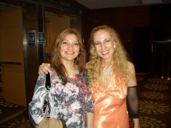 Irene Gomez with guitarrist Tali Roth