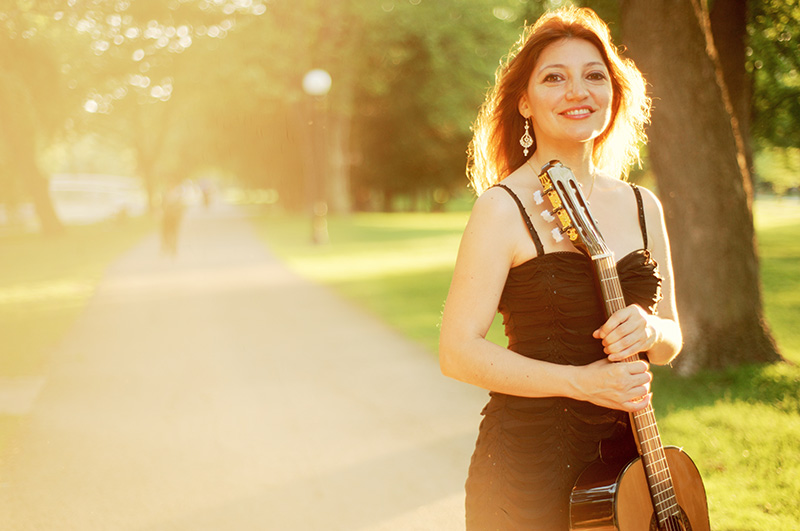 Irene Gomez, Concerts April 2015 USA and Canada Featured