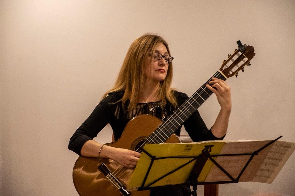 Irene Gomez performed at the Arts faculty week new editions